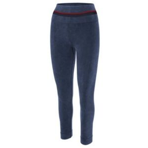 Champion Womens Pants Seamless Ankle Leggings Blue